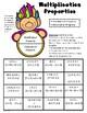 Multiplication Properties - Distributive and Associative Properties