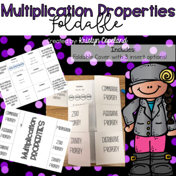 Multiplication Properties Foldable