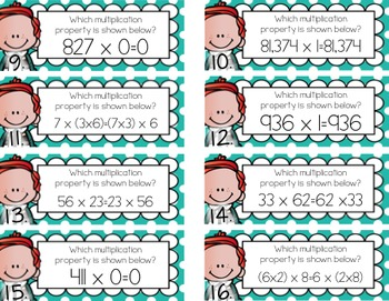 Multiplication Properties {FREEBIE!}