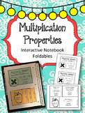 Multiplication Properties Interactive Notebook Foldables. Repeated Addition