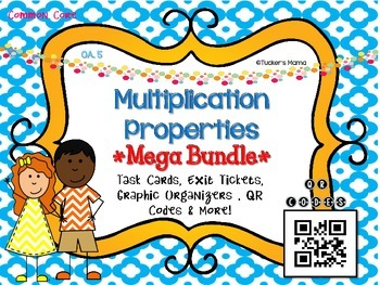 Multiplication Properties Mega Bundle