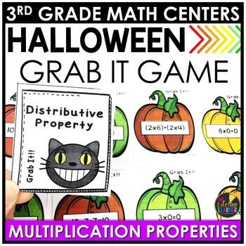 Multiplication Properties Halloween Game
