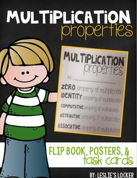 Multiplication Properties Pack