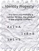 Multiplication Properties Packet (editable)