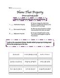 Multiplication Properties Pretest