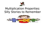 Multiplication Properties:  Silly Stories to Remember