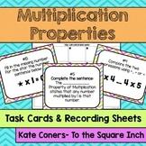 Multiplication Properties Task Cards