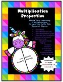 Multiplication Properties - Zero and Identity