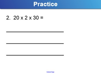 Multiplication Properties and Patterns