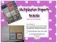 Multiplication Property Foldable
