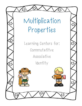 Multiplication Property Learning Centers Aligned to the Common Core