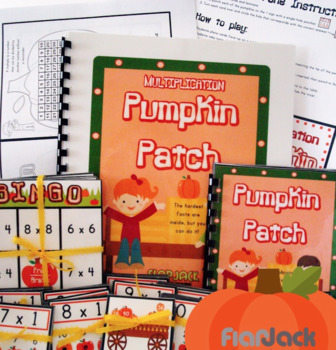 Multiplication Pumpkin Patch Activity Fun