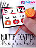 Multiplication Pumpkin Poke Game
