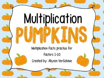Multiplication Pumpkins