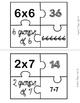 Multiplication Puzzle Center