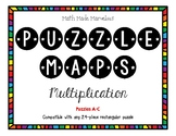Multiplication Puzzle Maps A-C