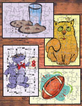 Multiplication Puzzle Bundle