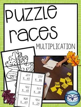 Multiplication Puzzle Races