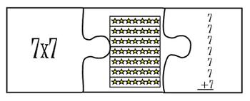 Multiplication Puzzle Smartboard Acticity