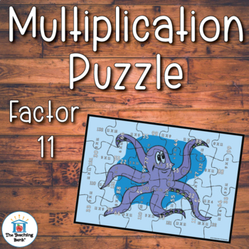 Multiplication Puzzle Factor 11