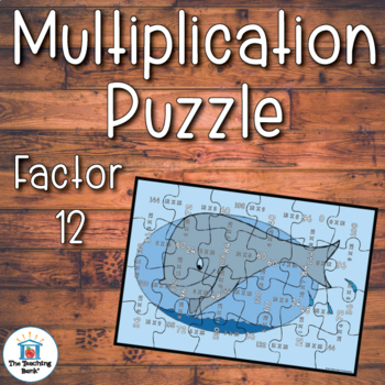 Multiplication Puzzle Factor 12
