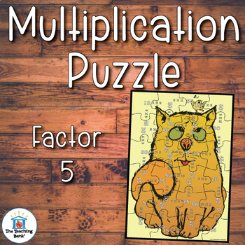 Multiplication Puzzle Factor 5