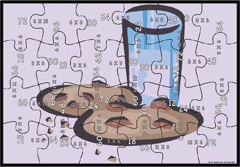 Multiplication Puzzle Factor 6