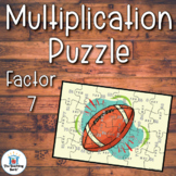 Multiplication Puzzle Factor 7