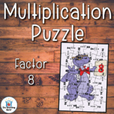 Multiplication Puzzle Factor 8