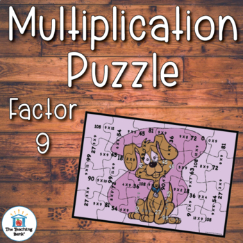 Multiplication Puzzle Factor 9