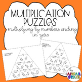 Multiplication Puzzle: multiplying by 10, 100, and 1,000