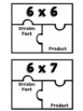 Multiplication Puzzlers: Fact Fluency Practice