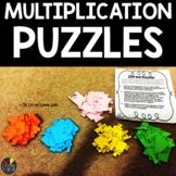 Multiplication Puzzles | Multiplication Fact Fluency