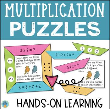 Multiplication Puzzles Math Center
