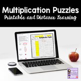 Multiplication Number Search Puzzles Bundle | Printable an