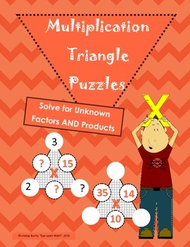 Multiplication Puzzles Challenging Version