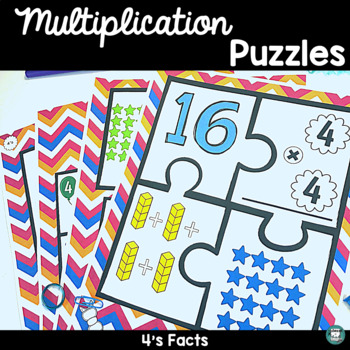 Multiplication Puzzles - Fours