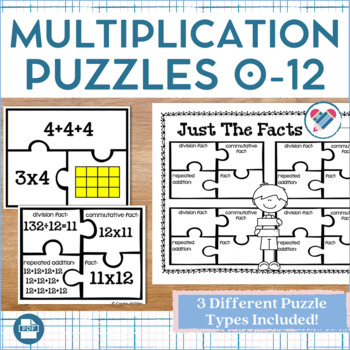 Multiplication and Division Puzzles