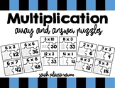 Multiplication Puzzles - Math Station - Arrays, Multiplica