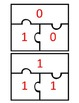 Multiplication Puzzles to 12x12 (self checking) Common Core