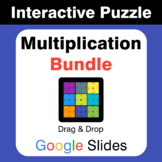 Multiplication Puzzles with GOOGLE Slides Bundle