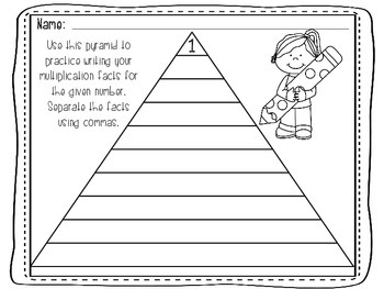 Multiplication Pyramid