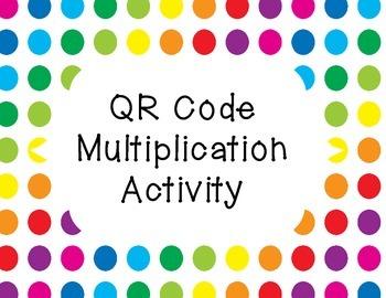 Multiplication QR Cards