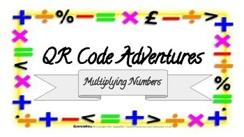 Multiplication QR Code Adventures