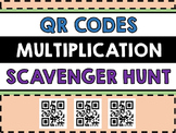 Multiplication QR Codes Scavenger Hunt - QR Code Math Centre - Technology