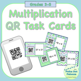 Multiplication QR Task Cards