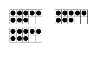 Multiplication Quick Image Dot Cards- 8s