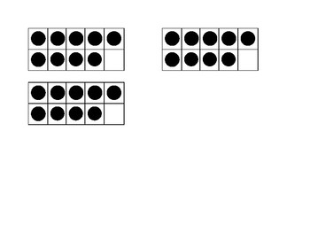 Multiplication Quick Image Dot Cards- 9s