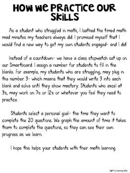Multiplication Quick Practice