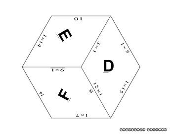 Multiplication Quilt 1 - Ones - PP